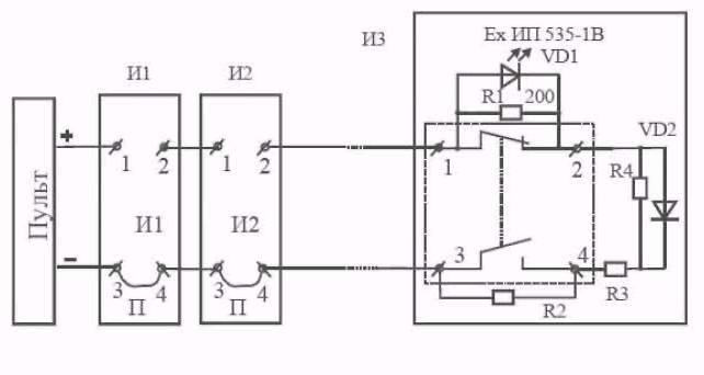 Рис. 3 Схема включения